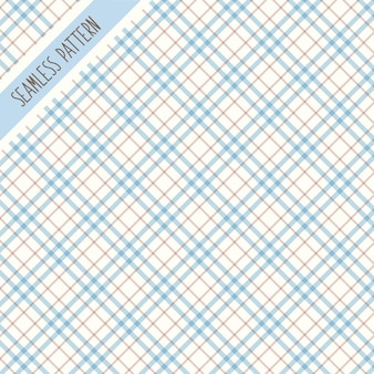 Modèle sans couture de tartan