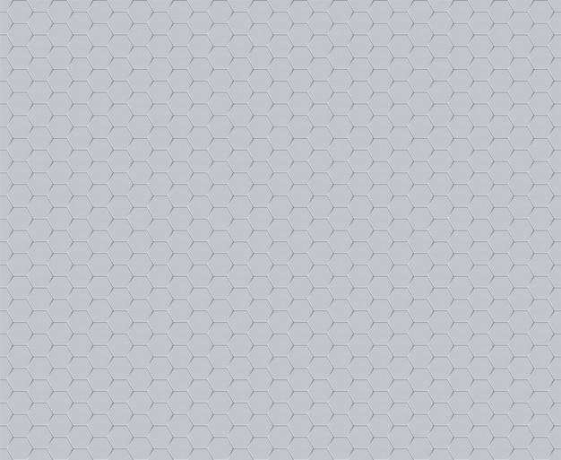 Modèle sans couture de technologie décorative hexagone futuriste