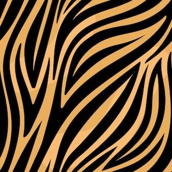 Modèle sans couture tendance tigre
