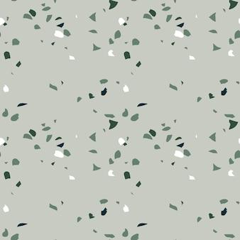 Modèle sans couture de terrazzo texture répétée abstraite