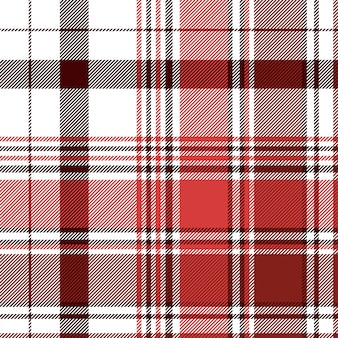 Modèle sans couture textile contrôle abstrait rouge