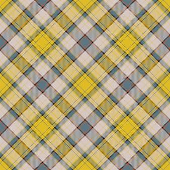 Modèle sans couture de textile écossais tartan