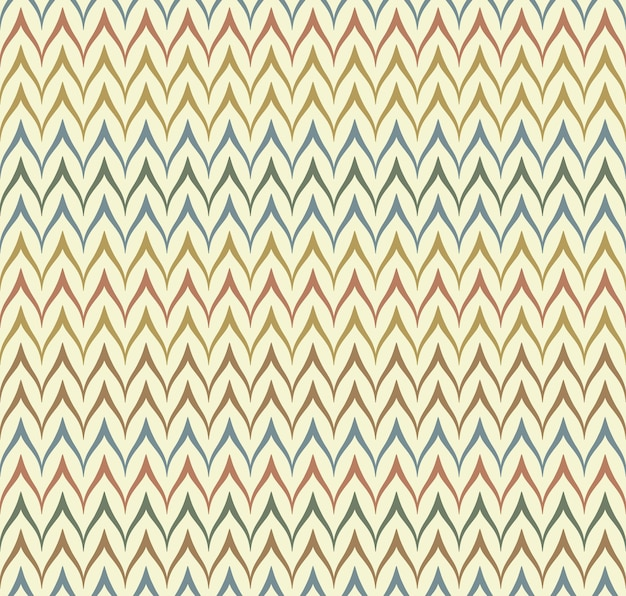 Modèle sans couture textile ethnique vectorielle continue. imprimé natif géométrique fin en zigzag. ornement mexicain folklorique. conception de style africain ancien. fond de couleur rétro de ligne simple. tissu chevron pour enfants.
