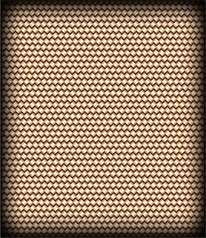Modèle sans couture de texture abstraite en osier