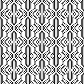 Modèle sans couture texturé noir et blanc