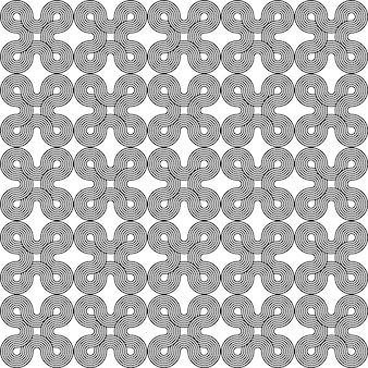 Modèle sans couture de texture ornement noir et blanc