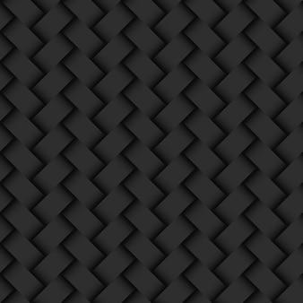 Modèle sans couture de texture osier fond abstrait foncé