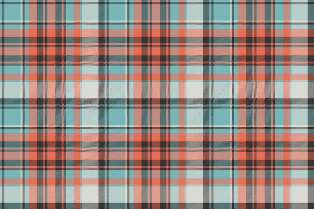 Modèle sans couture de texture de tissu écossais de contrôle moderne