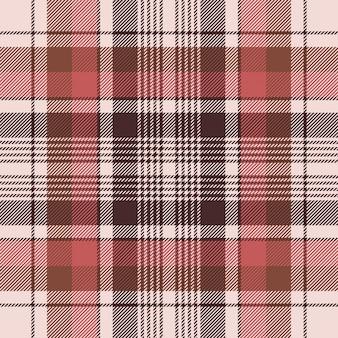 Modèle sans couture de texture de tissu écossais traditionnel brun