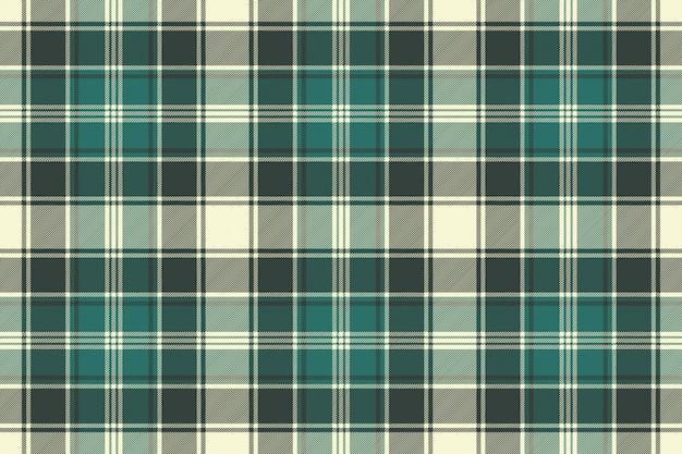 Modèle sans couture de texture de tissu écossais vert