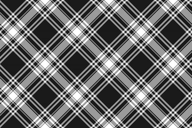Modèle sans couture de texture de tissu kilt noir menzies tartan