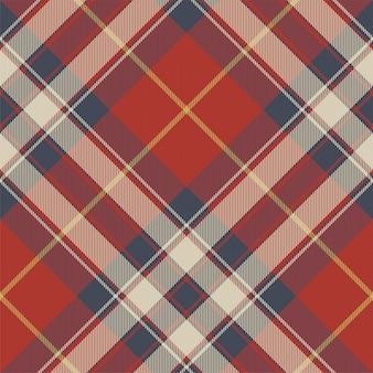 Modèle sans couture de texture de tissu tartan bleu rouge