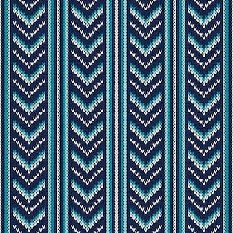 Modèle sans couture sur la texture tricotée en laine. eps disponible