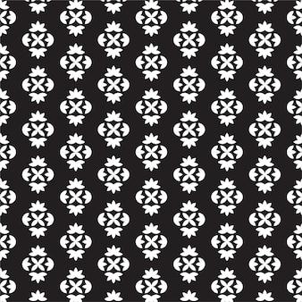 Modèle sans couture de treillis monochrome