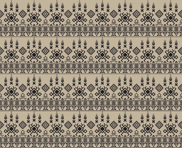 Modèle sans couture tribal aztèque