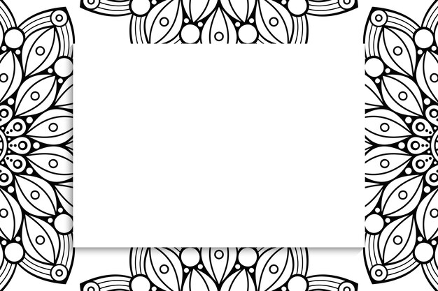 Modèle sans couture tribal - signes noirs aztèques sur fond blanc