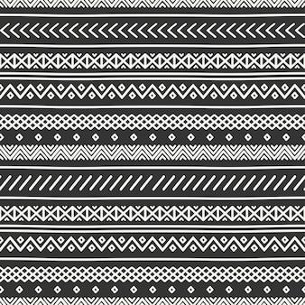 Modèle sans couture tribal