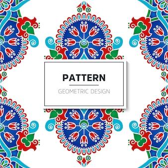 Modèle sans couture turque