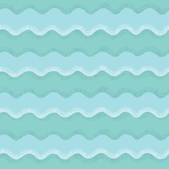 Modèle sans couture de vagues