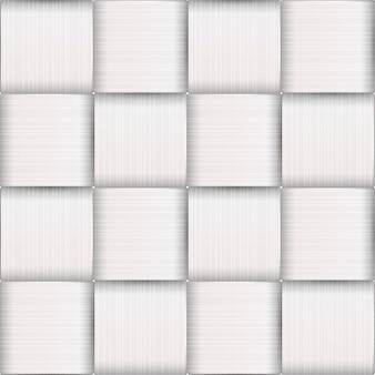 Modèle sans couture avec vannerie en écorce de bouleau blanc
