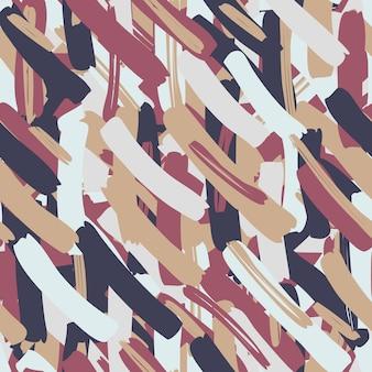 Modèle sans couture de vecteur abstrait pour les filles, les garçons, les vêtements. papier peint pour textile et tissu. style de mode. lumineux coloré.