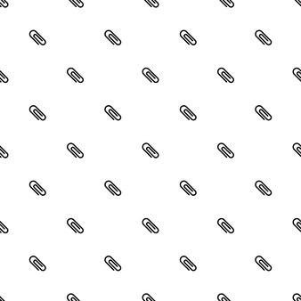 Modèle sans couture de vecteur, agrafe, modifiable peut être utilisé pour les arrière-plans de pages web, les remplissages de motifs