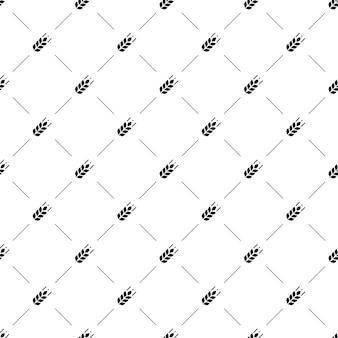 Modèle sans couture de vecteur, agriculture, modifiable peut être utilisé pour les arrière-plans de pages web, les remplissages de motifs