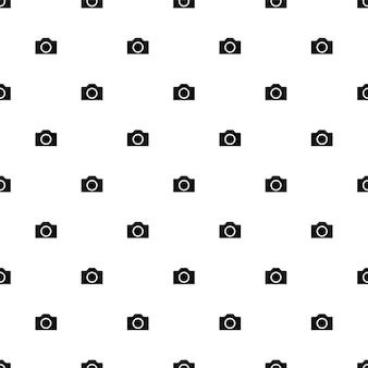 Modèle sans couture de vecteur, appareil photo, modifiable peut être utilisé pour les arrière-plans de pages web, les remplissages de motifs