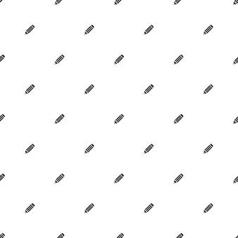 Modèle sans couture de vecteur, crayon, modifiable peut être utilisé pour les arrière-plans de pages web, les remplissages de motifs