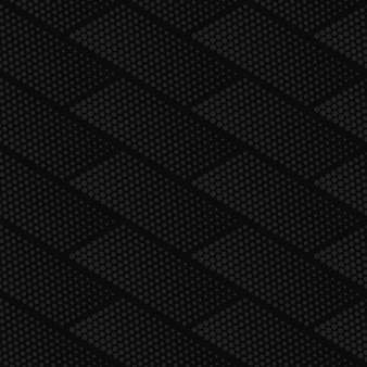 Modèle sans couture de vecteur demi-teinte géométrique gris foncé