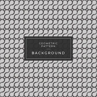Modèle sans couture de vecteur, fond moderne géométrique noir et blanc. fond d'écran