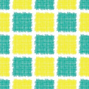 Modèle sans couture de vecteur avec des formes abstraites.