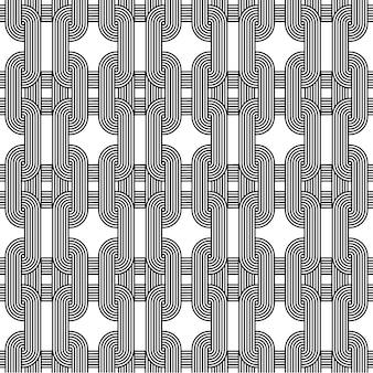 Modèle sans couture de vecteur infini géométrique impossible pour papier peint, couverture, carte
