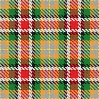 Modèle sans couture de vecteur tartan écossais alabama