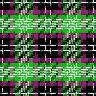Modèle sans couture de vecteur tartan écossais