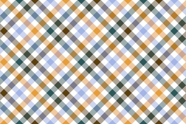 Modèle sans couture de vérification diagonale colorée