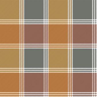 Modèle sans couture de vérification de texture de tissu rétro