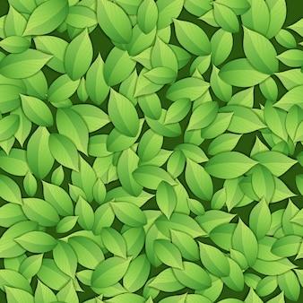 Modèle sans couture vert abstrait nature.