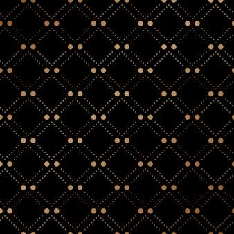 Modèle sans couture de voile d'or