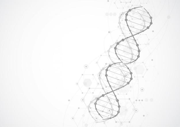 Modèle de science, fond d'écran ou bannière