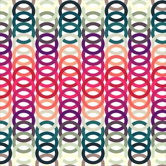 Modèle séquentiel de couleur ronde