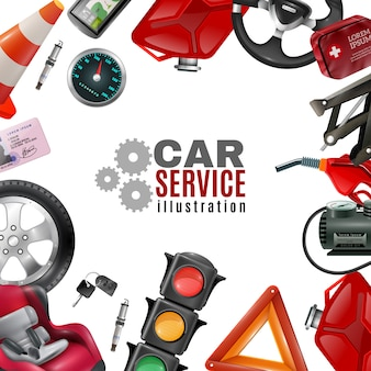 Modèle de service de voiture