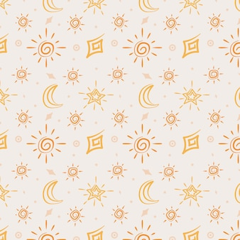 Modèle de soleil plat