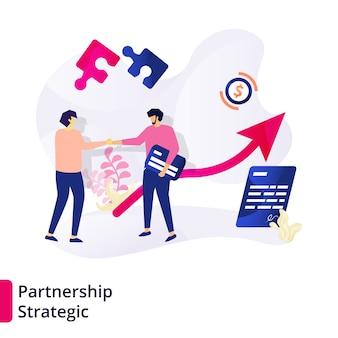 Modèle stratégique de partenariat