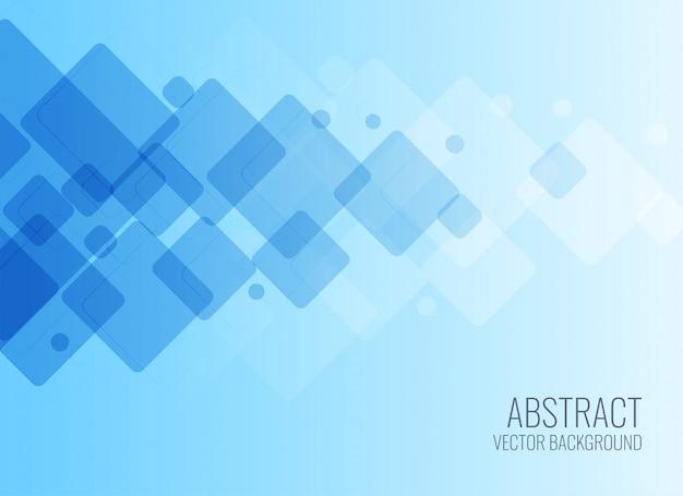 Modèle de style d'affaires bleu abstrait