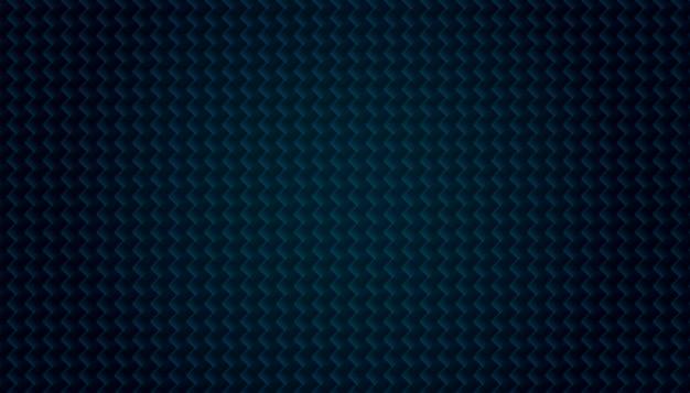 Modèle de texture abstraite en fibre de carbone bleu foncé