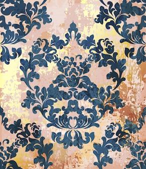 Modèle de texture baroque vintage