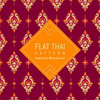 Modèle thaïlandais classique avec un design plat