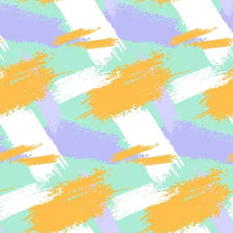 Modèle de trait de pinceau abstrait