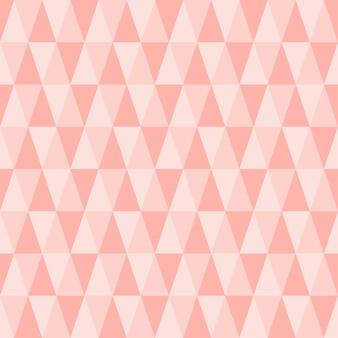 Modèle triangle sans soudure.